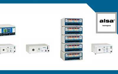 Produciamo elettrobisturi e aspiratori di fumi elettrochirurgici per alta media e piccola chirurgia.